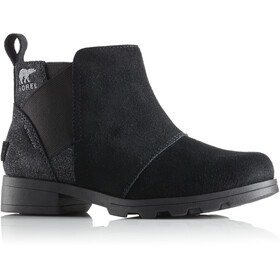 Sorel Emelie Bottines Chelsea Fille, black/black